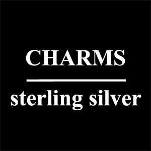 Charms<br>Sterling Silver